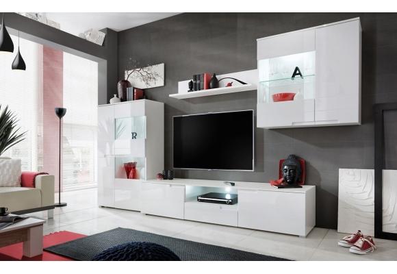 Salon TV CLEEN LEDs – 4 éléments
