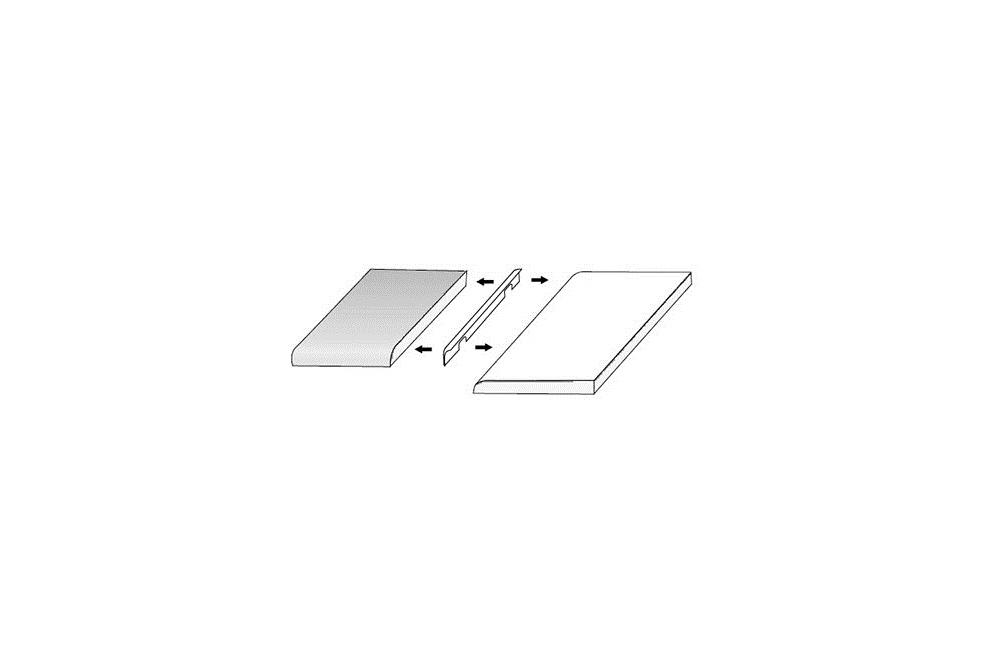 baguette 28 mm angle dusine. Black Bedroom Furniture Sets. Home Design Ideas