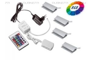 Kit LEDS Multicouleur télécommandé