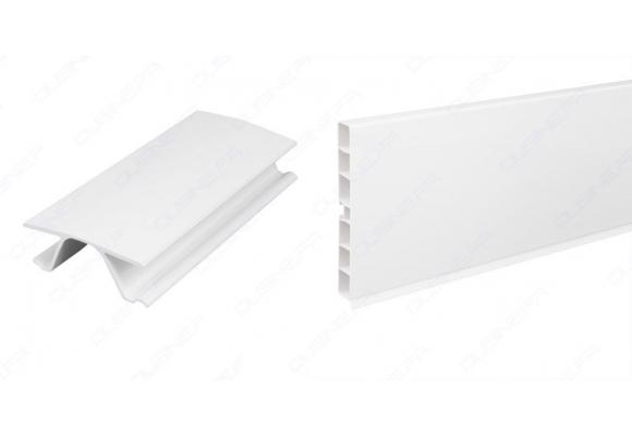 Plinthe blanc brillant 3 m