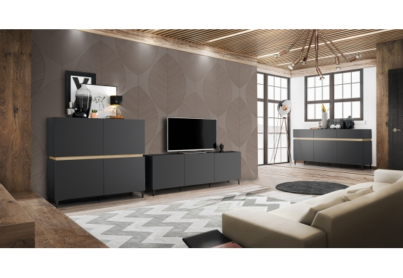 MEUBLE TV PORTE ITALIA - 180 CM